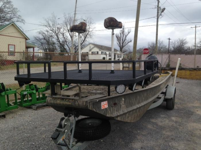 Bow fishing platform k a fabrication for Bow fishing platform
